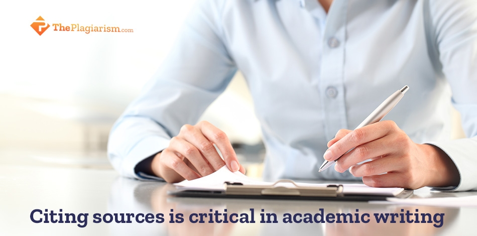 Citing Sources Is Critical in Academic Writing